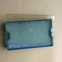 10 шт. лоток для стерилизации коробка офтальмический хирургический инструмент