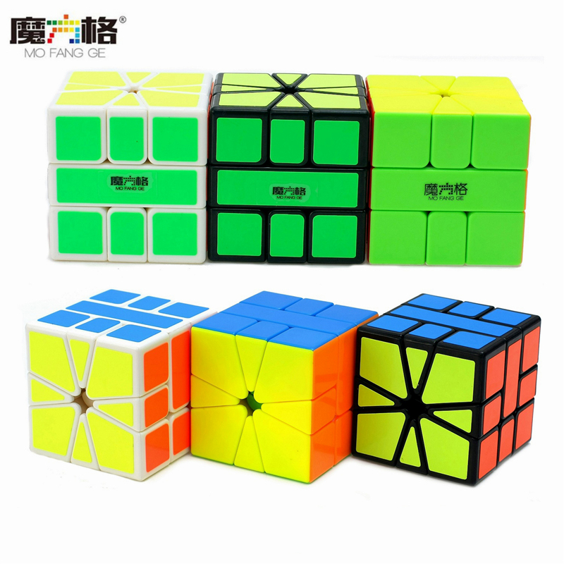 QiYi Mo Fang Ge SQ1 Magic Cube Cubo Square Puzzle Speed Puzzle Cubes Educational Toys for