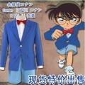 Detective Conan COS Service Kids  Conan Cosplay Adult Children's Clothing Coat Shorts Tie Shirt Set