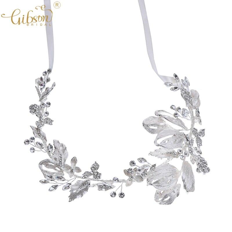 Silver Color Bridal Tiara Hair Accessories Wedding Headband Hair Crown Prom Party Halo Headpiece Women Headwear