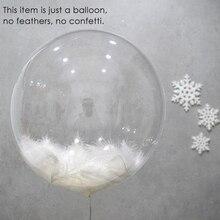 5pcs 10/18/24/36 inch big transparent balloon (no filler) birthday Helium baby shower wedding party decoration kids toys