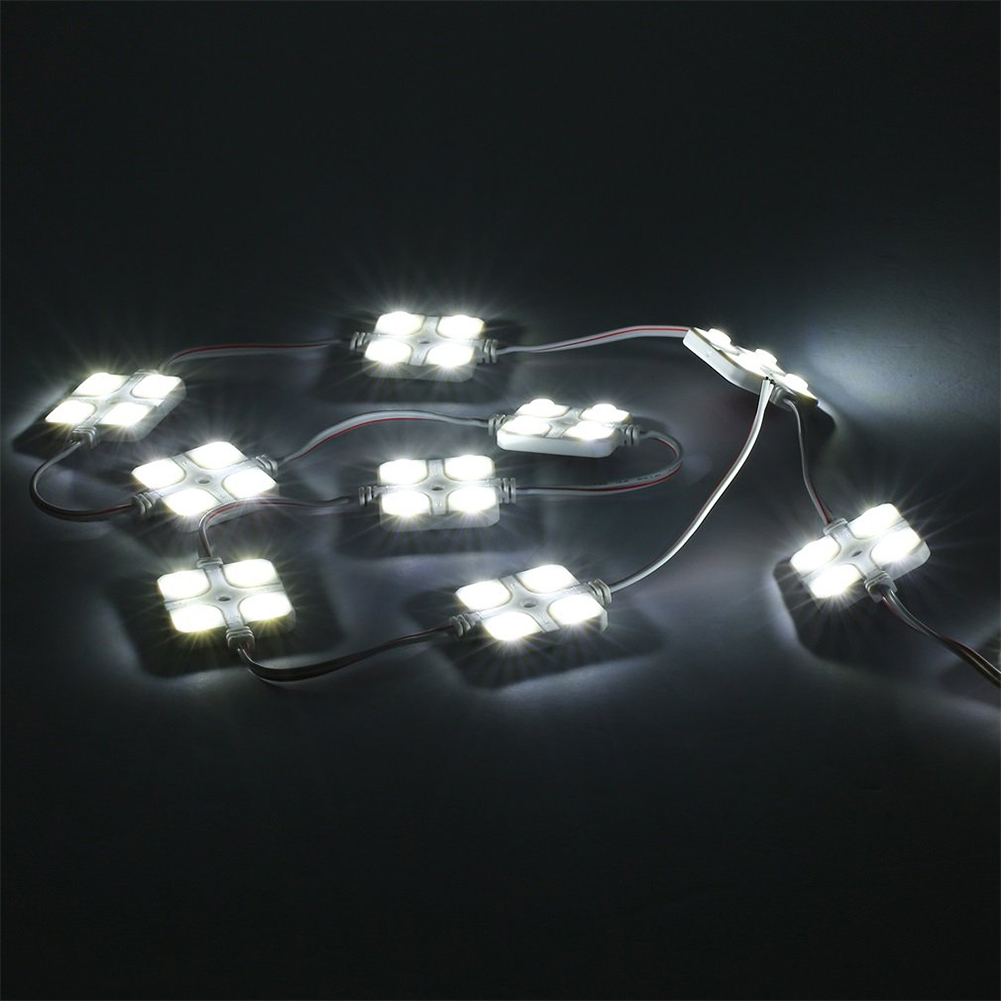 12V Voertuig Boot Strip Waterdichte Dome Reclame Ontwerp Super Heldere Truck Plafond LED Modules Interieur LED Verlichting Lamp