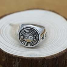 Новинка Винтажное кольцо из серебра 100% пробы фэн шуй реальное