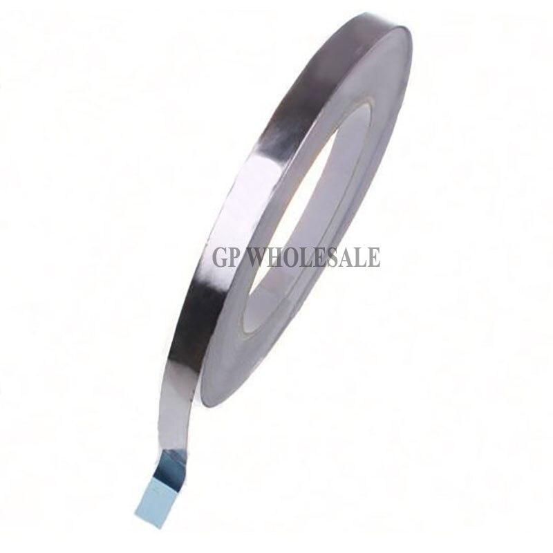 0,06 мм толщиной 5 мм ~ 30 мм ширина выбрать, 40 м, тепло Applicance, одна сторона клей Алюминий Фольга лента для BGA работы, EMI Экранирование