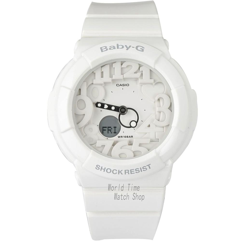 Casio Watch fashion trendy multi-functional waterproof female watch BGA-131-7B BGA-131-7B2 BGA-131-7B3  casio watch sweet fashion sports female student watch lx 500h 1b 1e 4e 7b2