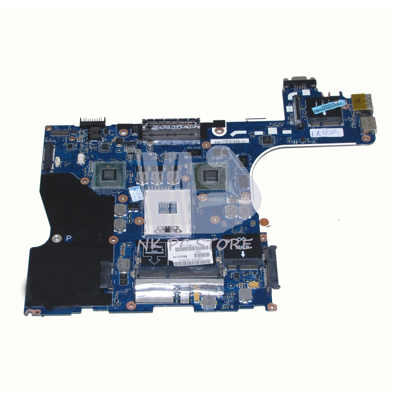 0RJ4K CN-00RJ4K Main Board For Dell Precision M4500 Laptop Motherboard NAL22 LA-5573P QM57 DDR3 FX880M GPU 1GB cn 0vx53t 0vx53t vx53t main board for dell inspiron n5010 laptop motherboard 48 4hh01 011 hm57 ati hd 5470 ddr3