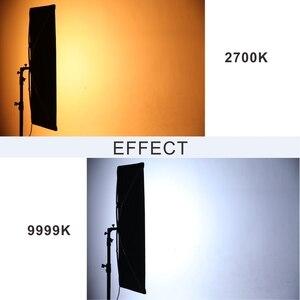 Image 3 - פלקון עיני LED RGB פוטוגרפיה גמיש אור 300W עם אפקט סצנות מצב עבור Dslr וידאו רציף תאורת סטודיו RX 748 השני