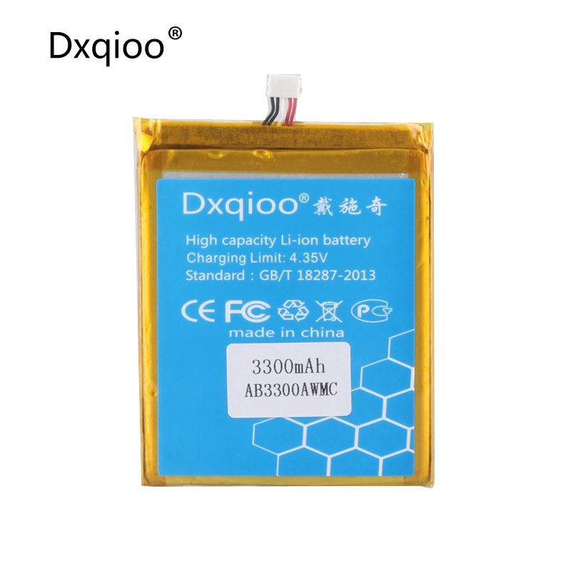 Dxqioo AB3300AWMC battery fit for PHILIPS W8510 Xenium W8510 batteries