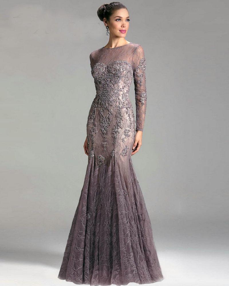 Mother of the Bride Dress Mauve