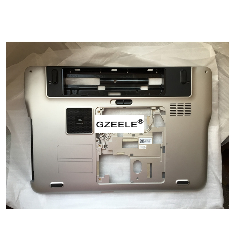 цены GZEELE new Laptop Bottom base Case Cover For Dell XPS 15 L501X L502X Series Lower Case PN 70FM3 070FM3 Assembly silver