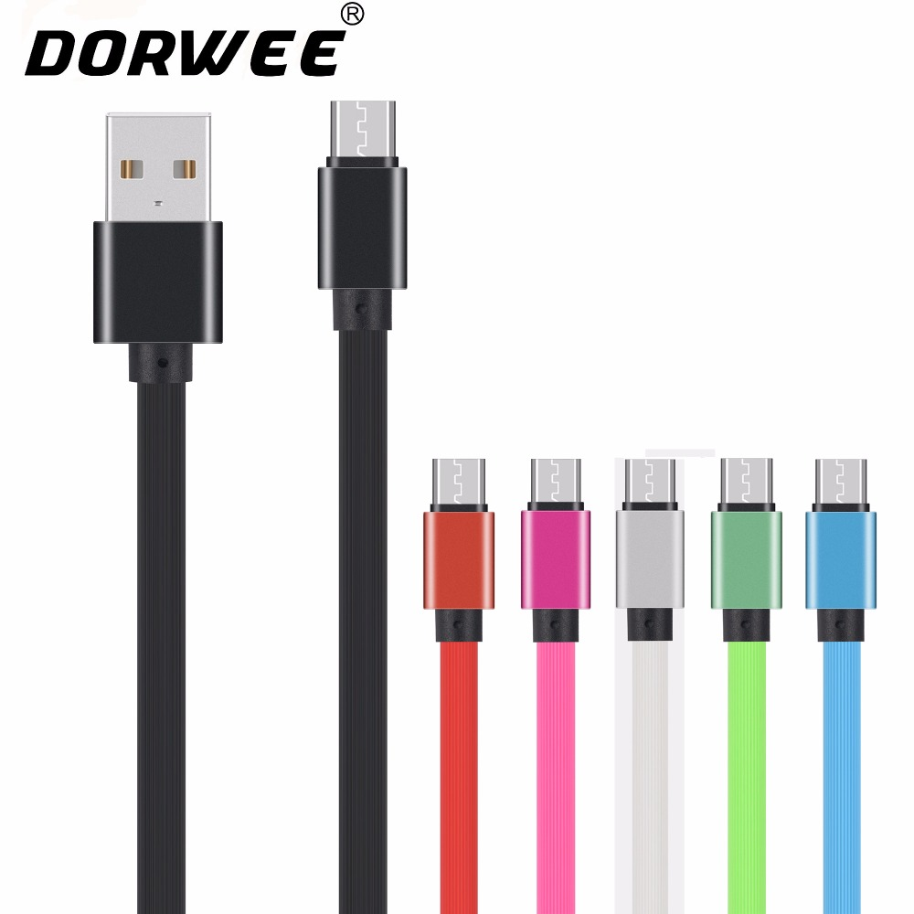 DORWEE Micro USB Cable 2A Fast Charging Data Cable For Samsung Xiaomi Android Mobile Phone Charger Wire Cord Microusb Cable