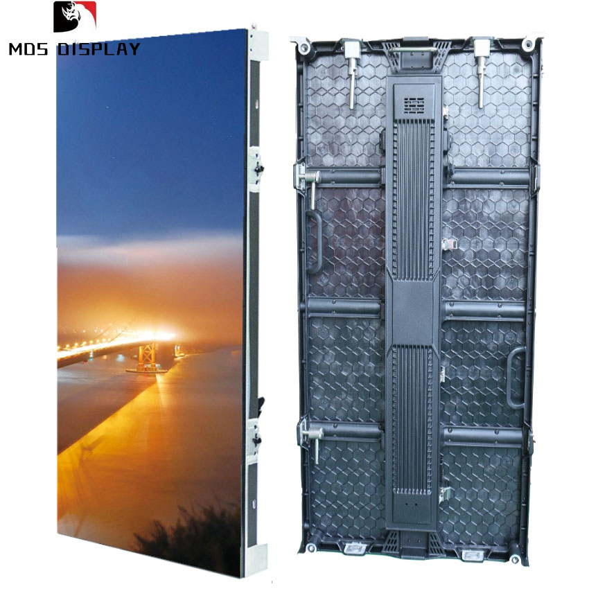 HD P4.81 outdoor rental led screen die casting aluminum led video wall RGB led display board or panel for stage event flow show