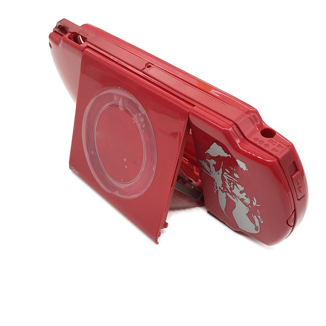 US $21 18 |Red For SONY PSP 2000 Limited Edition God of War Console Housing  Shell Case Cover on Aliexpress com | Alibaba Group