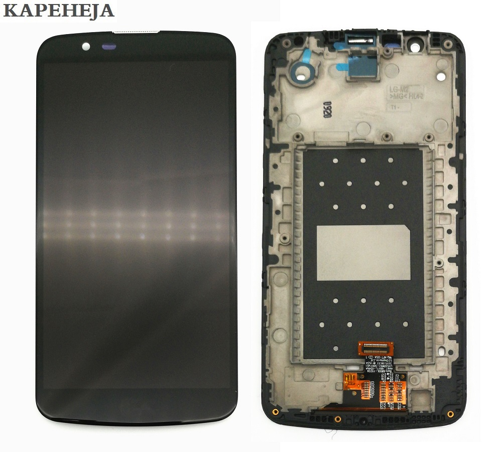 5.3For LG K10 LTE K420N K430 K430DS K410/ K10TV K430TV K10 TV LCD Display Touch Screen Digitizer Assembly with Bezel Frame