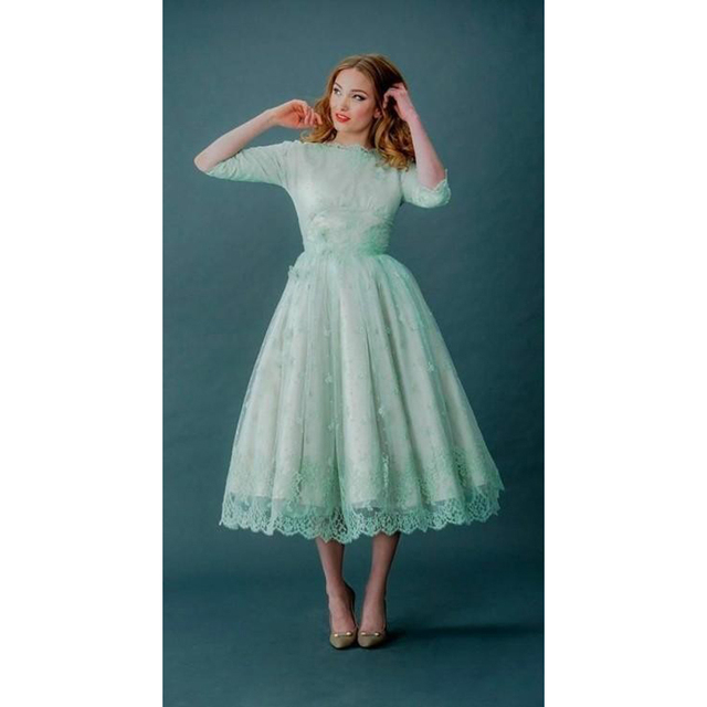 Mint Green Plus Size Dress Ottodeemperor
