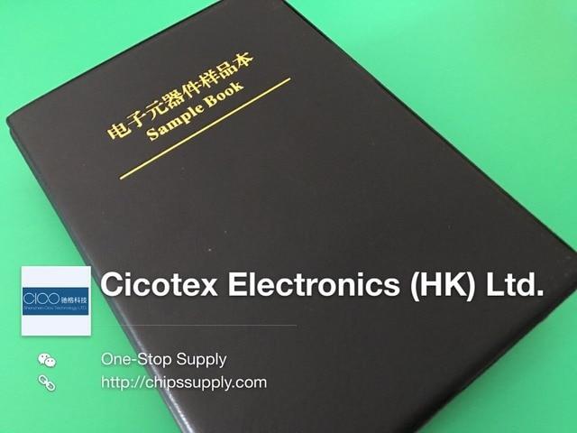 SMD 0603 condensateur échantillon livre 90 valeurs * 50 pcs = 4500 pièces composants électroniques paquet échantillons kit condensateur kit SMD pack