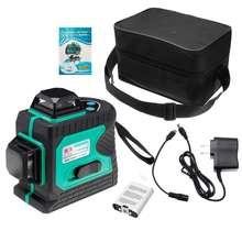 ZEAST Blue-green Light 3D 12 Line Outdoor Strong Laser Level Infrared Light High-precision Automatic Waterproof Measuring Tool
