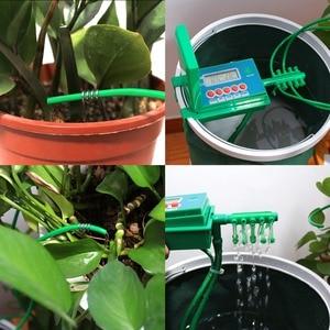 Image 4 - Automatyczne mikro domu nawadniania kropelkowego podlewanie zestawy System zraszacz z inteligentny kontroler do ogrodu, Bonsai użytku w pomieszczeniach #22018