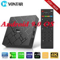 HK1 MINI Smart TV BOX Android 9.0 RK3229 Quad core 2GB 16G H.265 2,4G Wifi HD HK1MINI September top Box Android Media Player
