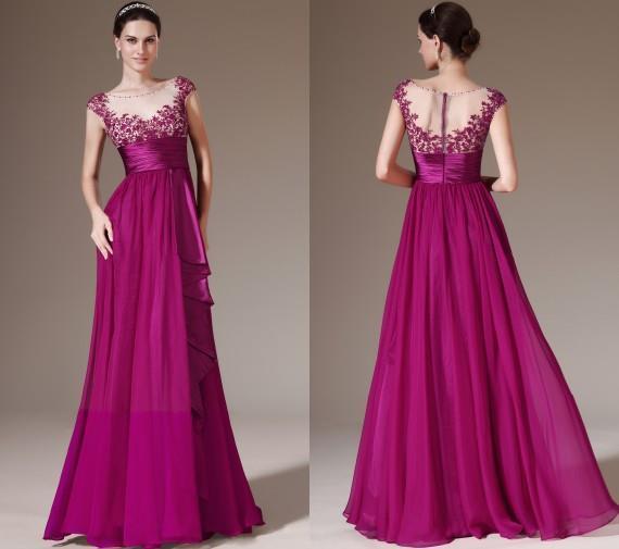 Fotos de vestidos de noche ala moda