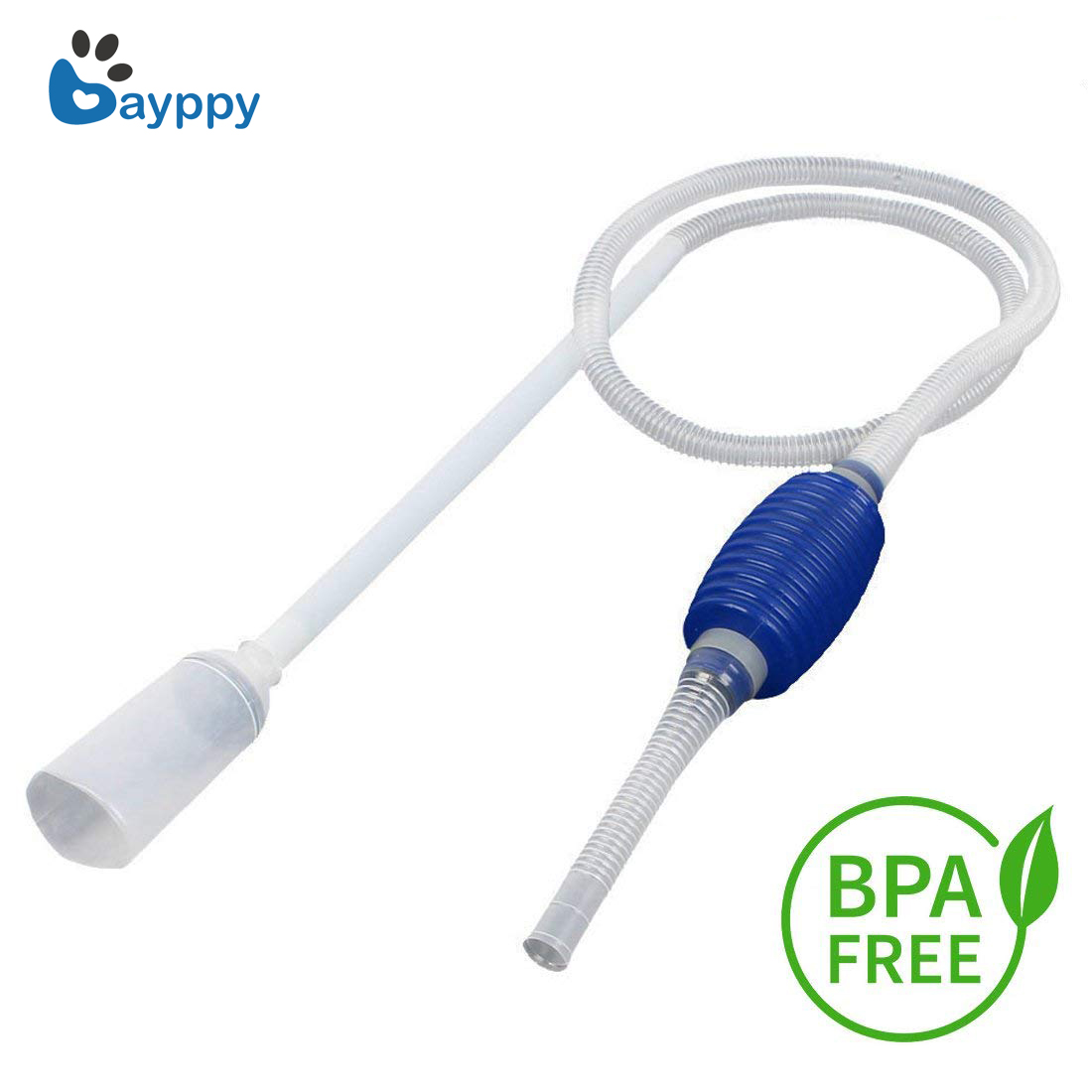 Aquarium Fish Tank Vacuum Water Change Siphon Gravel Suction Pipe Filter Fr Fish Tank Vacuum Water Change Pump Tools Filters image
