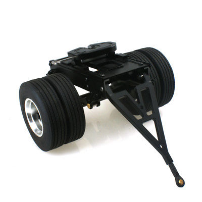 LESU Metal Trailer 25.5*18.2*14CM For 1/14 RC Tmy   Tractor Truck Car DIY TH02030