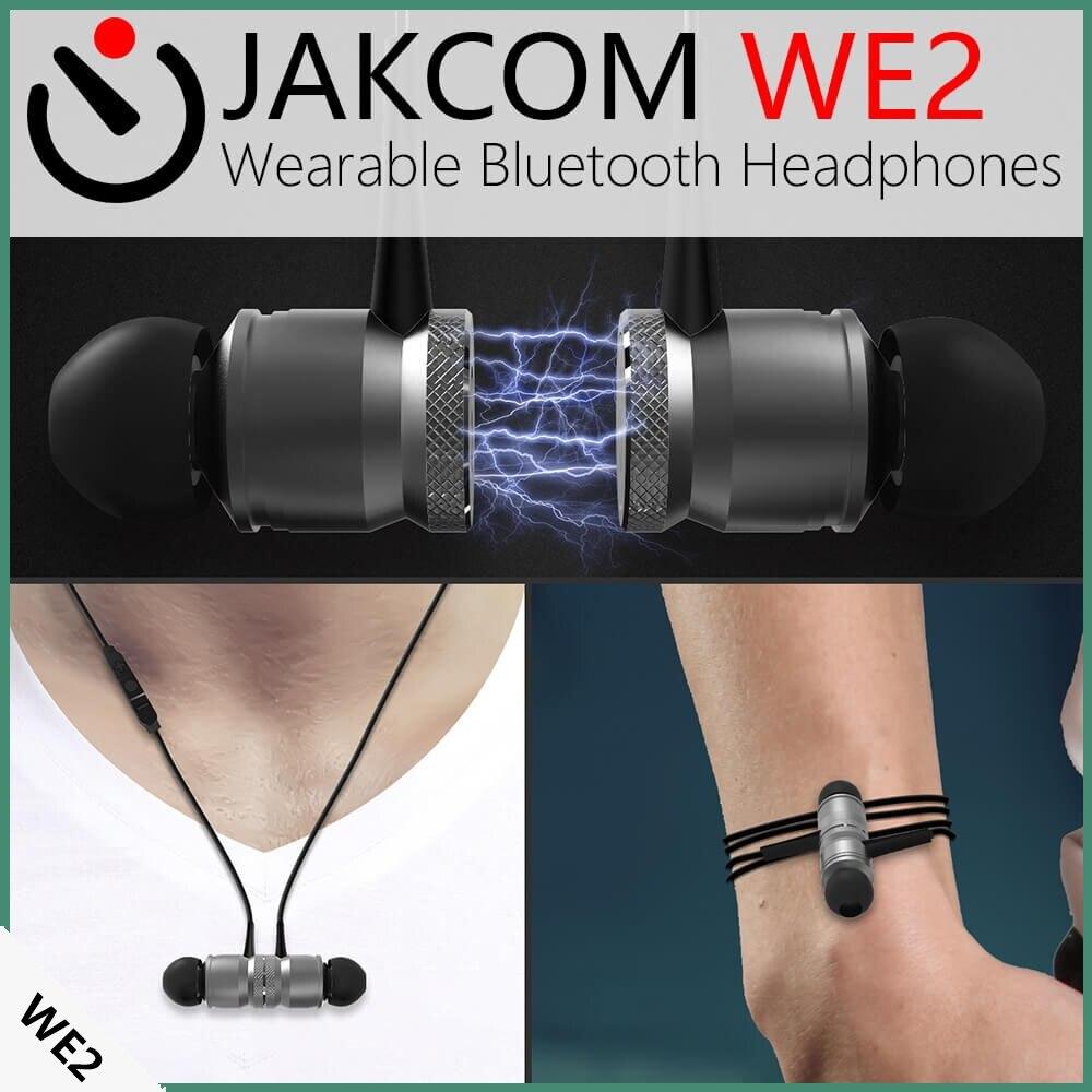 JAKCOM WE2 Smart Wearable Earphone Hot sale in Mobile Phone Stylus like touch pad Pen Rubber Feather Pen