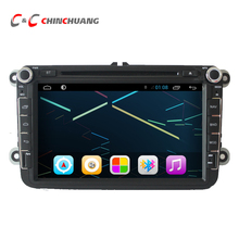 Quad Core HD 1024X600 Android 6.0 Car DVD Player for Volkswagen GOLF with Radio GPS Navigation, Support Mirror Link SWC
