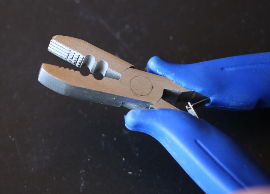 Heat Fusion Glue Keratin Bonding / Micro Rings Removal Pliers for Hair Extensions hair plier hair extension plier