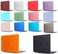Nova caixa do portátil para apple macbook air  pro retina 11 12 13 15 16 mac livro 2017'' 2018 2020 novo air 13 pro 13 15 polegadas com barra de toque