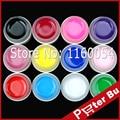 COSCELIA Beautiful DIY 12 pcs Light Summer Colors uv gel Set long lasting strengthen Nail Builder false nails art tools