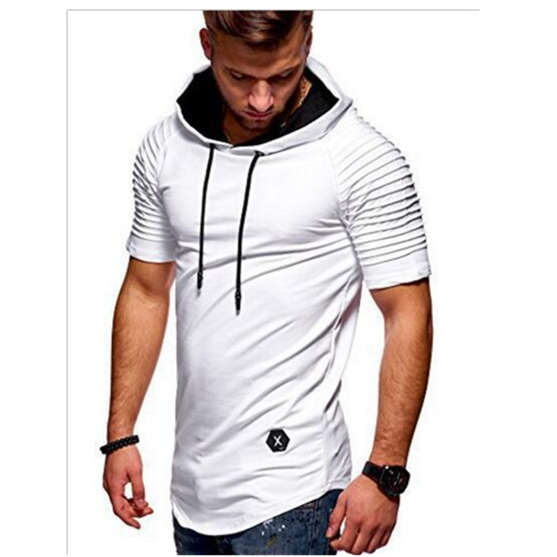 The Spring And Autumn Period Short Sleeves Take Care Of Oneself Morals Man T-Shirt O Type Policy Fixed Polyester T-shirt Man