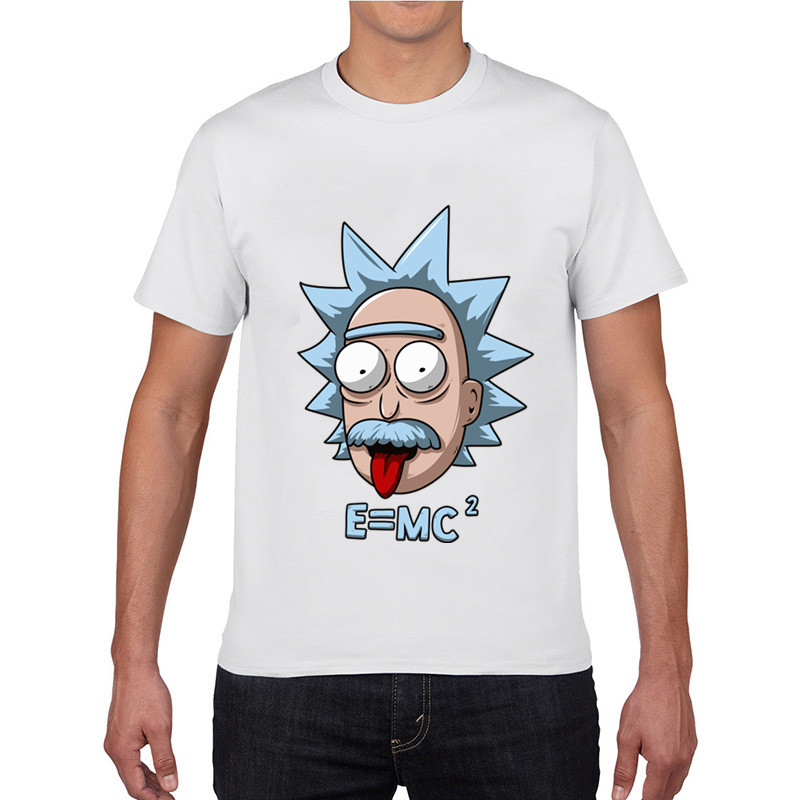 2017 rick and morty funny print tops summer rick morty tee new rick y morti Men t shirt camisa masculina blusas patins kpop