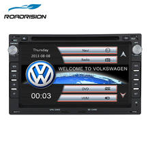 RoadRision 2din 7inch Car Stereo DVD GPS Navigation Autoradio for Volkswagen VW Passat/JETTA/Bora/Polo/GOLF CHICO/SHARAN BT RDS(China)