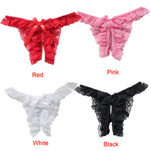 Women Sexy lingerie Lace Thong girl G-String Panty Open panties Women Underwear women string tanga briefs underwear intimates