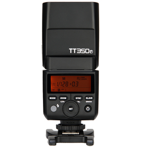 Image 2 - Godox TT350F מיני Speedlite פלאש עבור Fujifilm X T20 X T3 TTL HSS GN36 1/8000S 2.4G אלחוטי מערכת/X1T F טריגר משדר