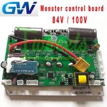 GotWay nuovo Mostro scheda madre 84 v 100 v scheda madre scheda di controllo fit per 1600wh 2400wh 1845wh Mostro