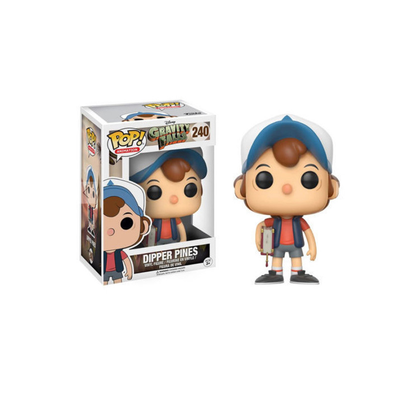 Funko Pop Figures GRAVITY FALLS & DIPPER PINES Action Figure Dolls Toys Figura Collection Model Toys For Children Birthday Gift