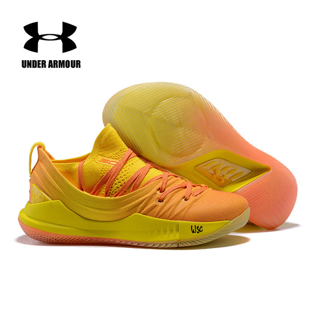 official photos f1df4 f60f7 under armour curry 5 yellow