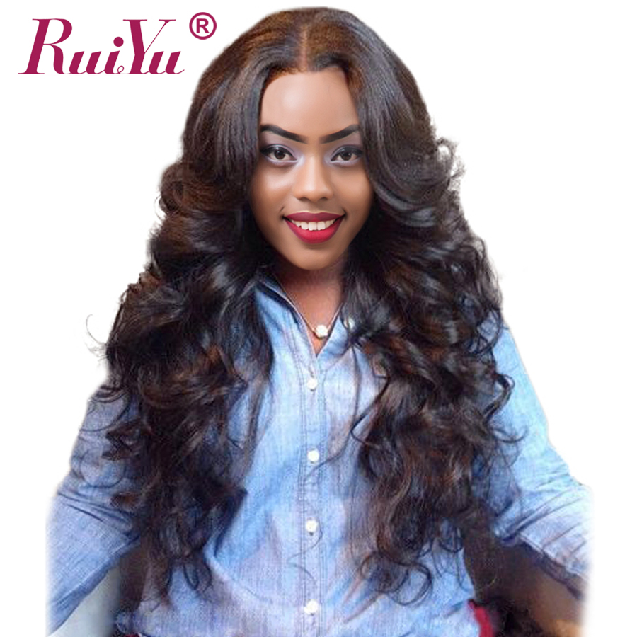 RUIYU Hair Peruvian Body Wave Bundles Human Hair Extensions Non Remy Hair Weave Natural Color Hair