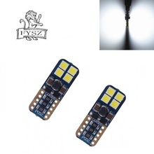 2Pcs  T10 12V 3030 W5W 4W 6000K Cars From Canbus Led Light-Emitting Diodes Independent Bulb No Errors Univ era Auto Lamp