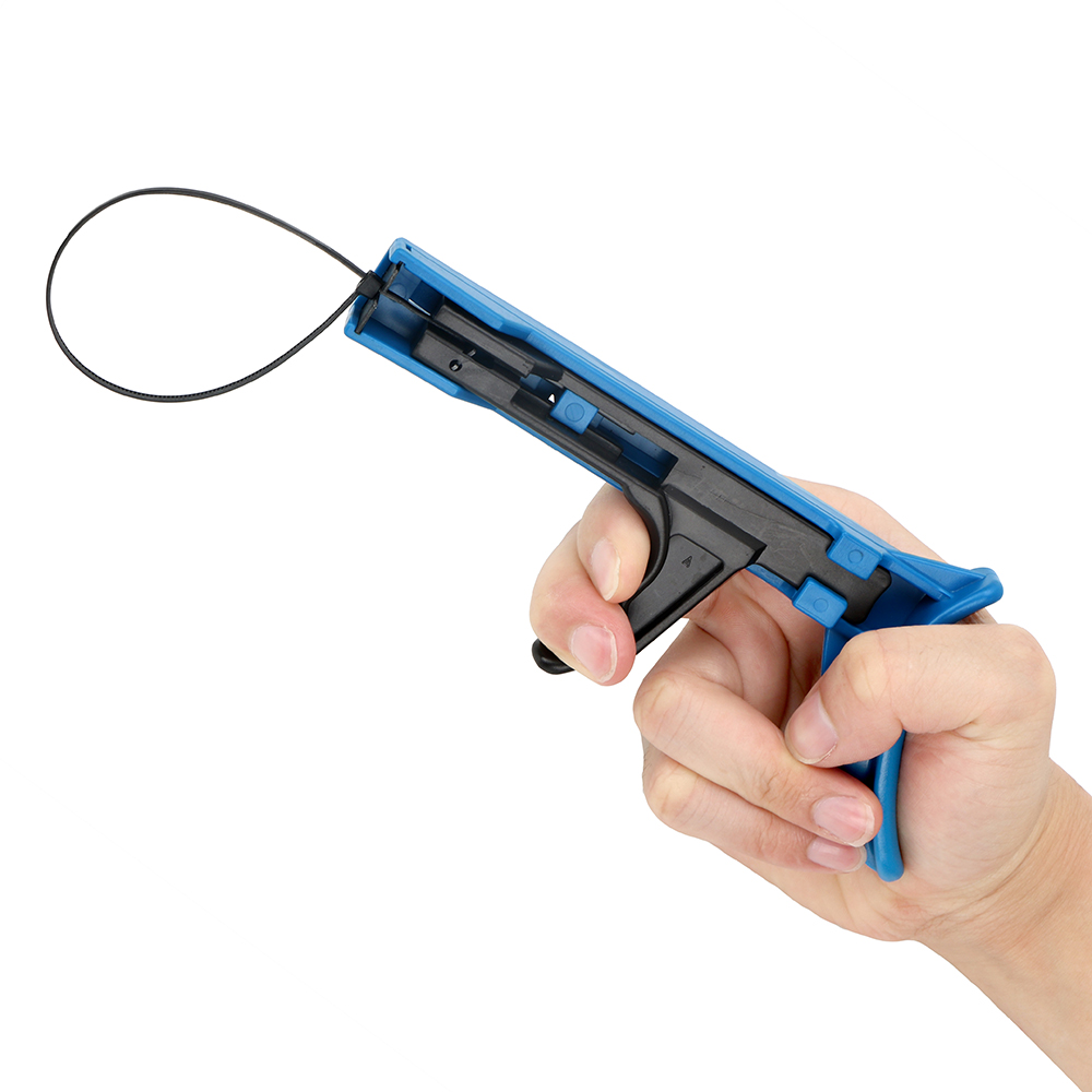 NICEYARD Cable Tie Gun TG-100 Fastening And Cutting Tool Automatic Tensioning For Nylon Cable Tie Special Pliers Hand Tools
