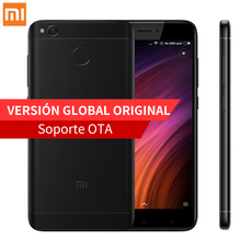 "Глобальная версия Xiaomi Redmi 4X Pro смартфон 3 ГБ оперативной памяти 32 ГБ ROM Snapdragon 435 Octa core 13.0MP камеры 4100 мАч 5 ""HD отпечатков пальцев"