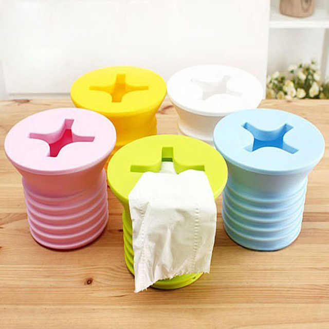 Free Shipping 1Piece Bathroom Toilet Tissue Boxes Roll Paper Holder Giant Screw Roll Holder Box Cover & Free Shipping 1Piece Bathroom Toilet Tissue Boxes Roll Paper Holder ...