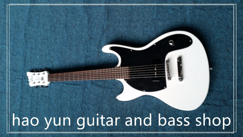 New Arrival Mosrite in White color Electric Guitar with Best Workmanship Free shipping lemochic hot sale women salsa cha cha double steps latin tango pole dancing performance arena classical professional dance shoes