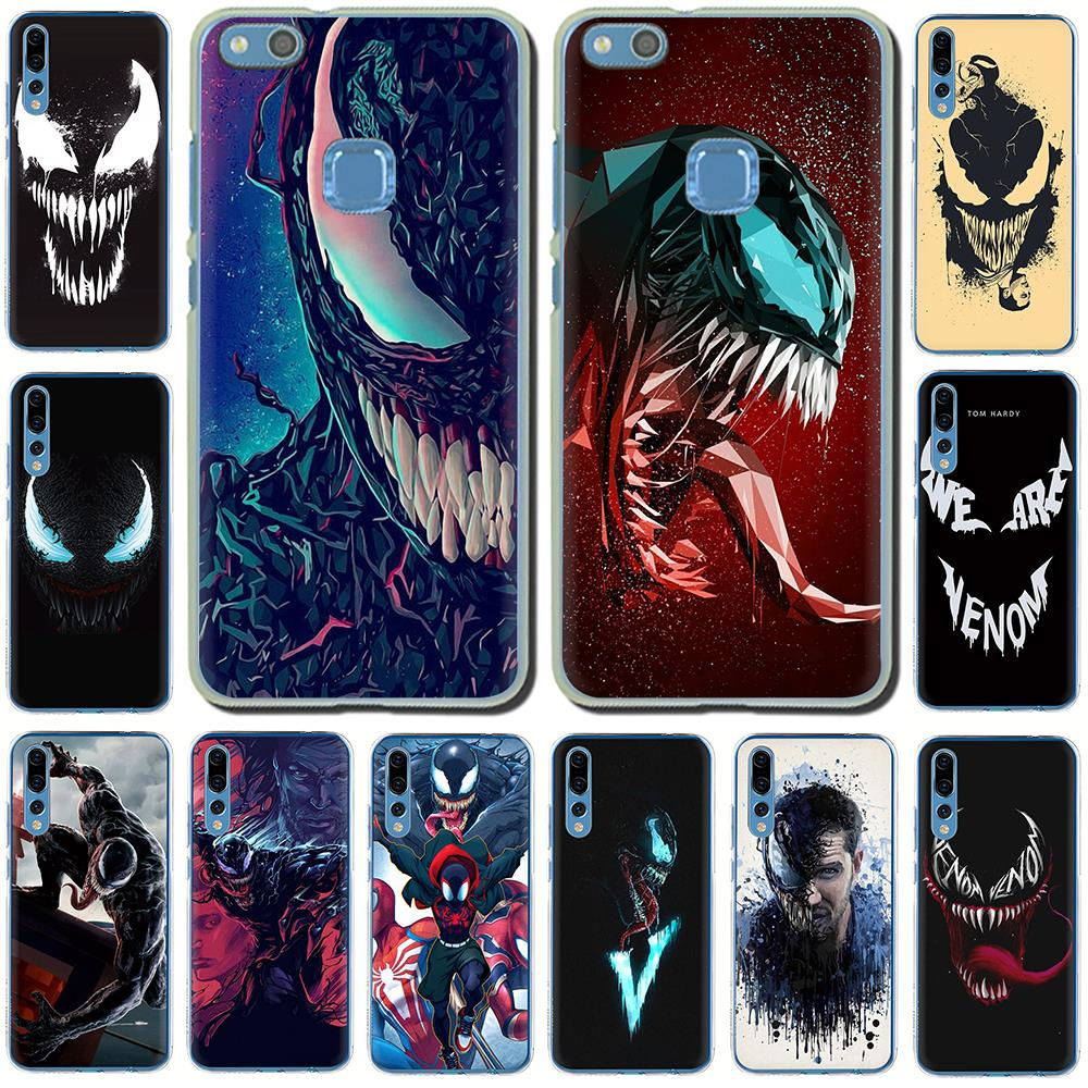 <font><b>Marvel</b></font> Venom Newest Super Hero Hard <font><b>Phone</b></font> <font><b>Case</b></font> for Huawei <font><b>Honor</b></font> play 10 8C 8X 8 <font><b>9</b></font> <font><b>Lite</b></font> 7C 7X 6A 7A 6C view 20 9X Pro image