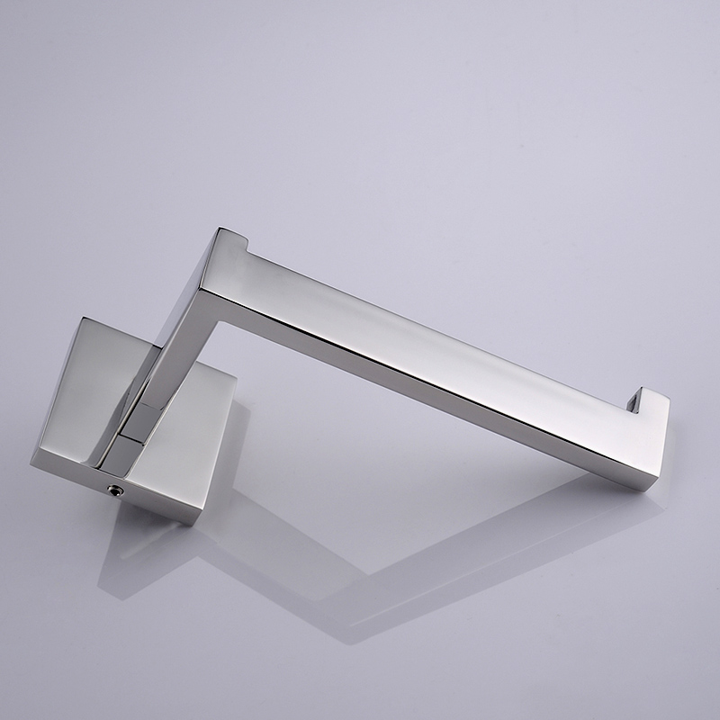 2pcs/lot SUS 304 Stainless Steel Bathroom Toilet Paper Holder Toilet Roll Holder For Paper Towel Square Bathroom Accessories