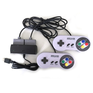 Image 5 - Xunebeifang 7Pins 2 Players For Nintendo For SNES SF C Game Controller to USB for Android STEAM PC MAC Adaptor