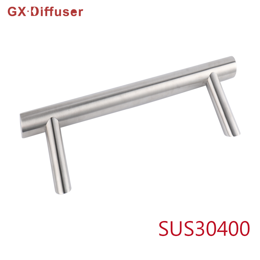 GX Diffuser Exterior Door Handle Glass Gate Handles for Gateway Stainless Steel Long Pulls Fittings Hardware Lever Knob Bathroom bronze glass door handle modern european luxury stainless steel door handle chinese antique wooden door handles