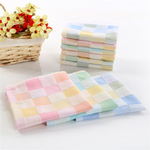 3pcs/lot 25*25cm Baby Towel Soft and Breathable Towels newborn bath towel easy clean dry face with 3 color